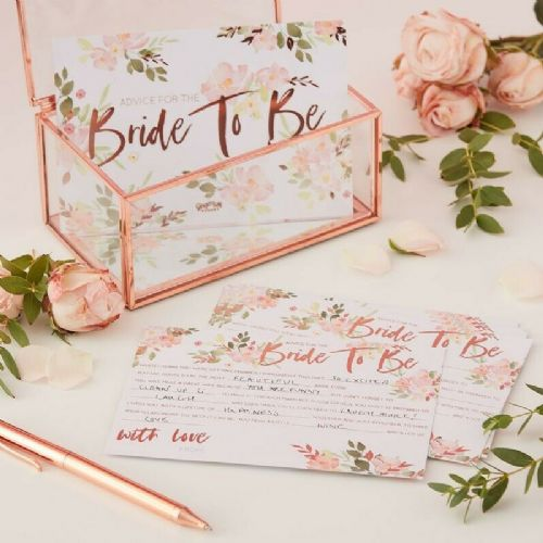 Bride To Be Advice Cards 10pk